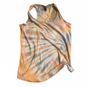 Tie dyed Anvil tank t-shirt medium